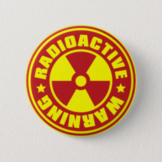 Radiation_S 6 Cm Round Badge