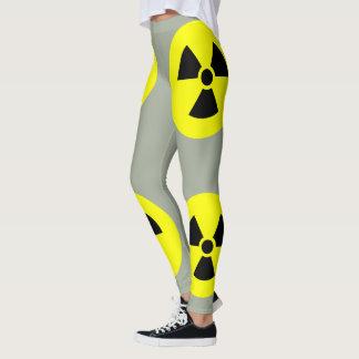Radiation Sign GrayLeggings Leggings