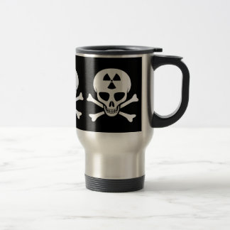 Radiation Skull & Crossbones Mug