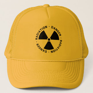 Radiation Symbol Cap