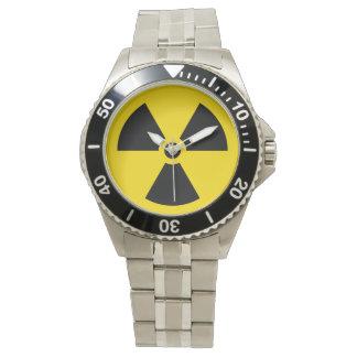 Radiation symbol watch