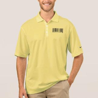 Radiation Therapist Barcode Polo Shirt