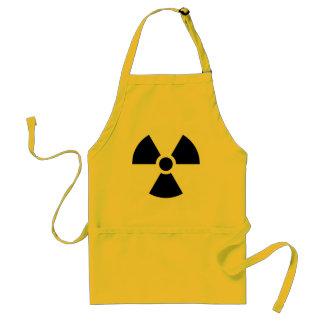 Radiation Trefoil Symbol Funny Cook Standard Apron
