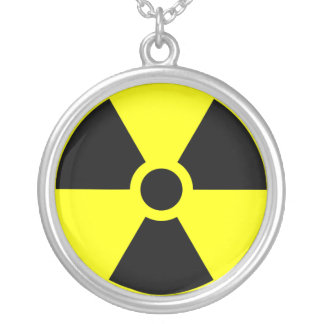 Radiation Warning Logo Necklace