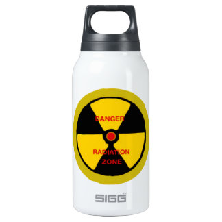 Radiation zone insulated water bottle