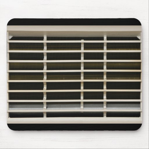Radiator grid texture mouse pads