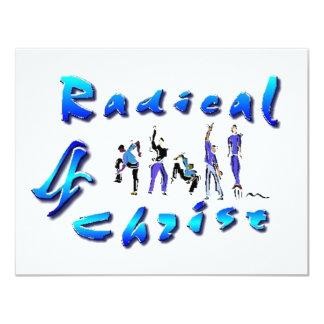 Radical For Christ 11 Cm X 14 Cm Invitation Card