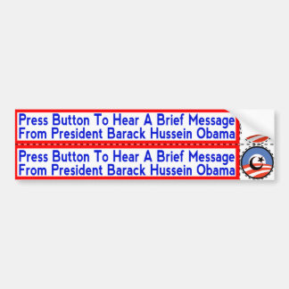 Radical Islamist Obama Stickers for Hand-Dryers