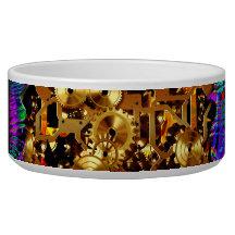 Radical Steampunk 6 Pet Bowl