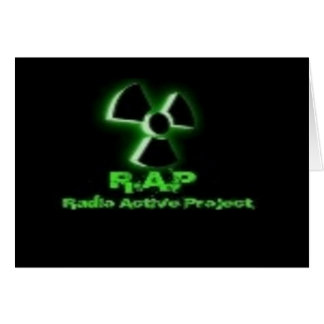 Radio Active  Clothes & Accessories Card