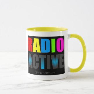 Radio Active Day-Glow Mug