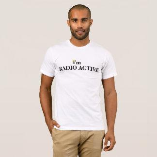 Radio Active  Ham Radio T-shirt with Call Sign