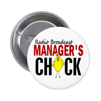 RADIO BROADCAST MANAGER'S CHICK PINS