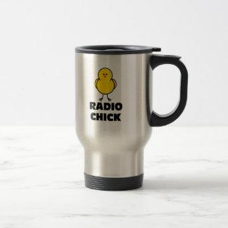 Radio Chick Coffee Mugs