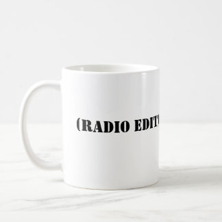 RADIO EDIT BASIC WHITE MUG