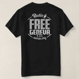 Radio Free Geneva T-Shirt (Black)