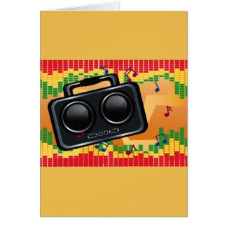 Radio Groove Card