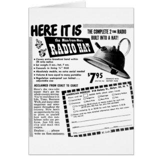 Radio Helmet Card