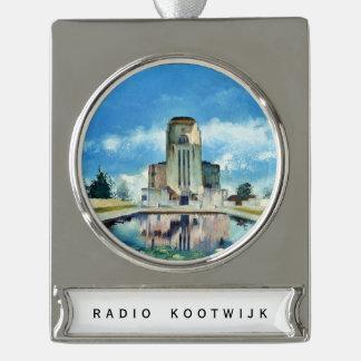 Radio Kootwijk hanger Silver Plated Banner Ornament