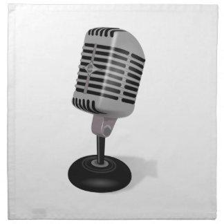Radio Microphone Napkin