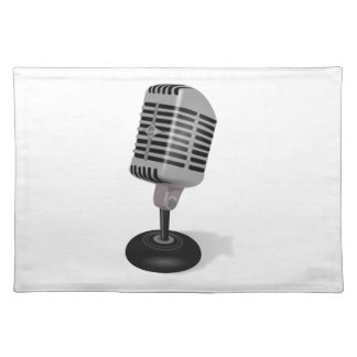 Radio Microphone Placemat