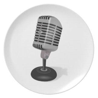 Radio Microphone Plate