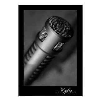 RADIO: Microphone  Poster