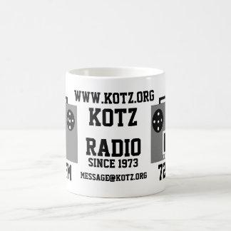 radio classic white coffee mug