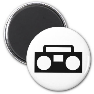 Radio Music Refrigerator Magnets