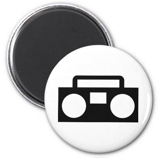 Radio Music Refrigerator Magnets
