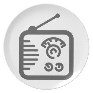 Radio Plate