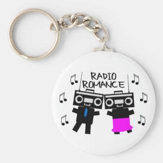 Radio Romance Key Ring