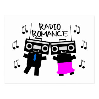 Radio Romance Postcard