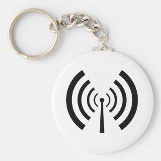 Radio Signal Bars Keychains