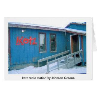 RADIO STATION  (2), kotz radio station by Johns... Card