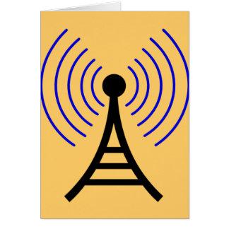 Radio Tower Greeting Cards
