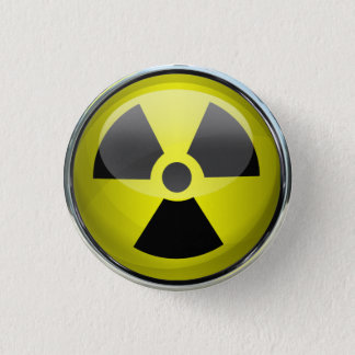 Radioactive 3 Cm Round Badge