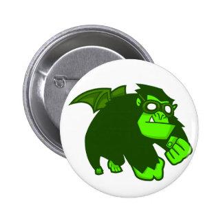 Radioactive Ape! 6 Cm Round Badge