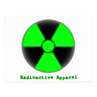 Radioactive Apparel Post Cards