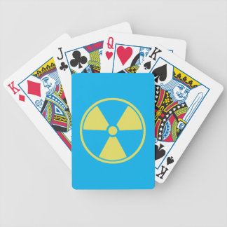 Radioactive Bicycle Playing Cards