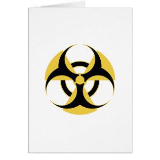 Radioactive Biohazard Card
