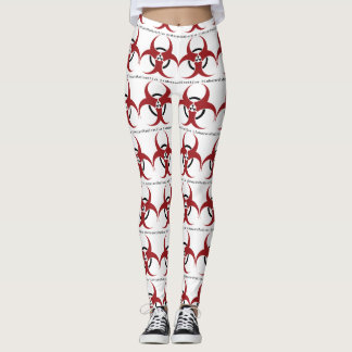 Radioactive biohazard leggings