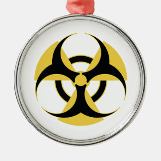 Radioactive Biohazard Metal Ornament