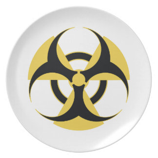 Radioactive Biohazard Plate