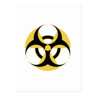 Radioactive Biohazard Postcard