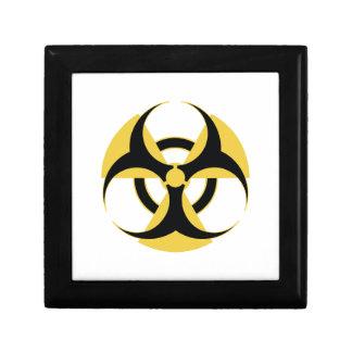 Radioactive Biohazard Small Square Gift Box
