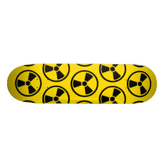 Radioactive Custom Skate Board