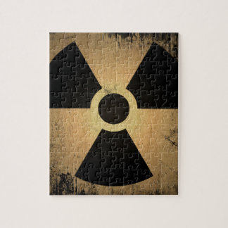 Radioactive danger jigsaw puzzle