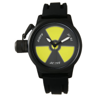 """Radioactive"" design for the brave. Watch"