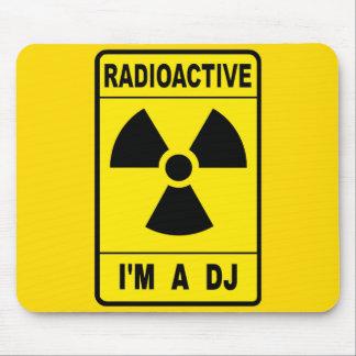 Radioactive DJ Mouse Pad